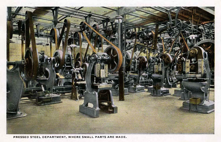 Ford Plant Postcards Circa 19172-rfh1-10