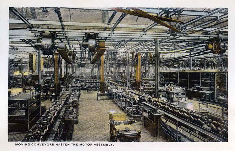 Ford Plant Postcards Circa 19172-rfh1-14
