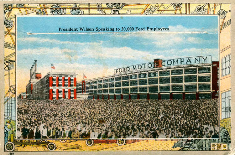 Ford Plant Postcards Circa 19172-rfh1-25