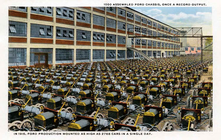 Ford Plant Postcards Circa 19172-rfh1-4