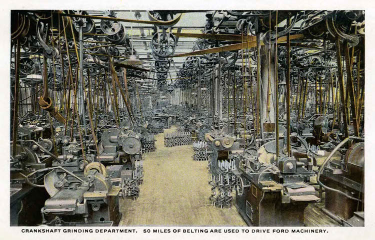 Ford Plant Postcards Circa 19172-rfh1-8