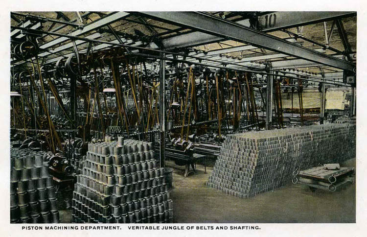 Ford Plant Postcards Circa 19172-rfh1-9