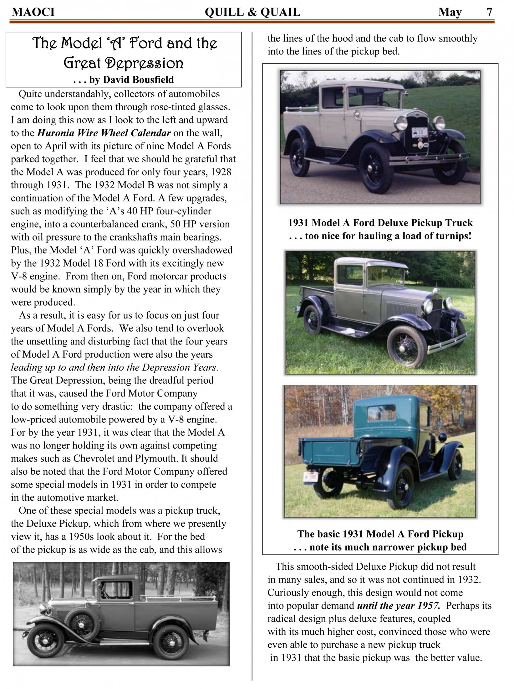 The History Of Ford And The 20 Million Model A In 2018 May Q&Q-5
