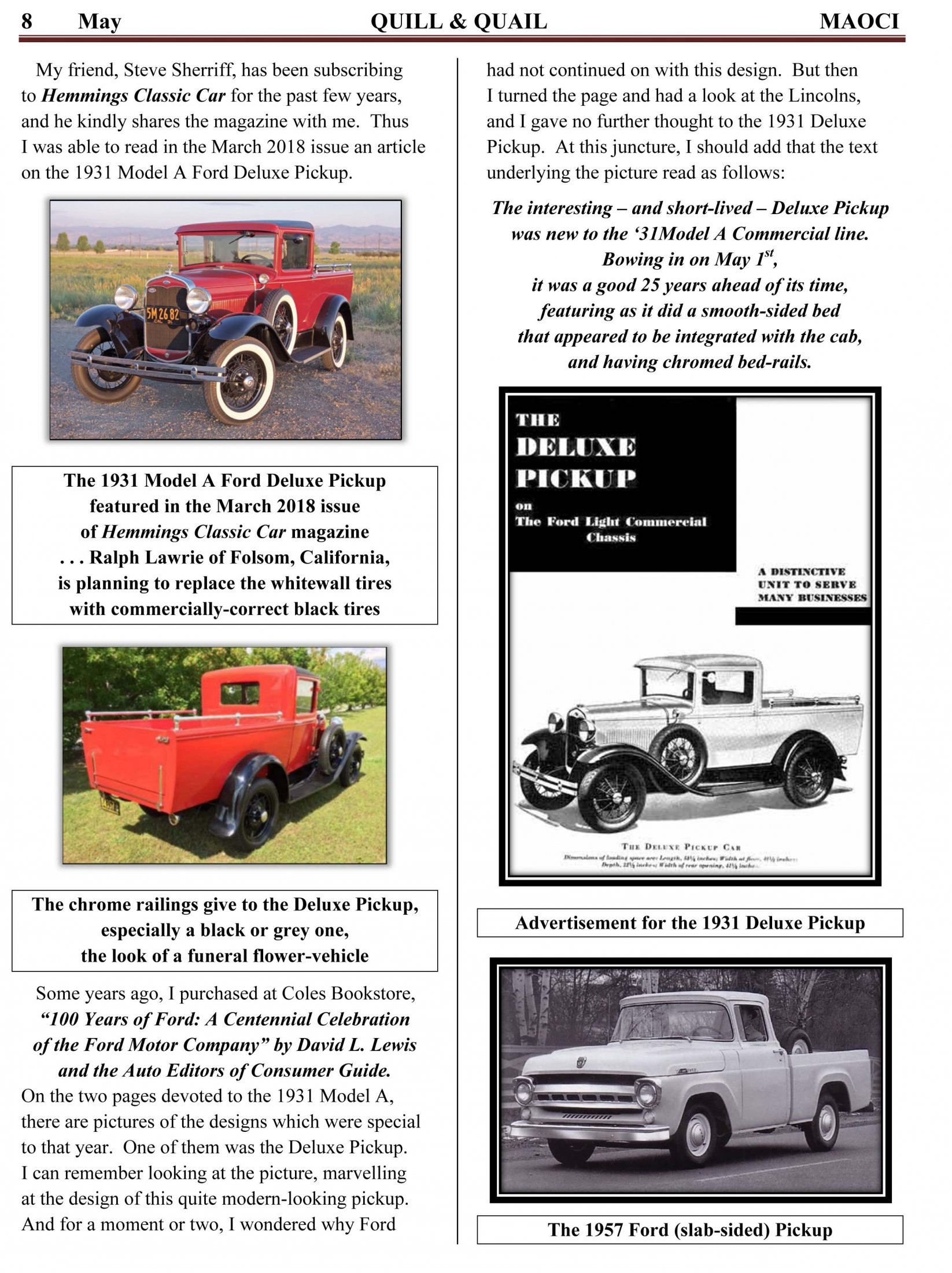 The History Of Ford And The 20 Million Model A In 2018 May Q&Q-6
