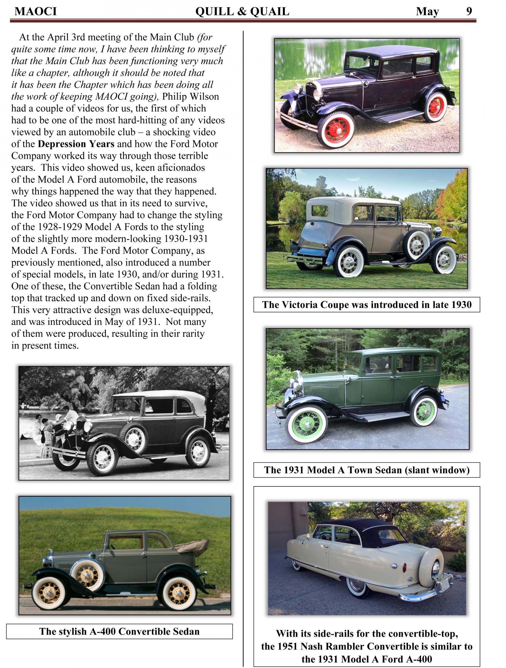 The History Of Ford And The 20 Million Model A In 2018 May Q&Q-7