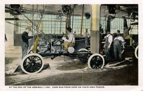 Ford Plant Postcards Circa 19172-rfh1-12