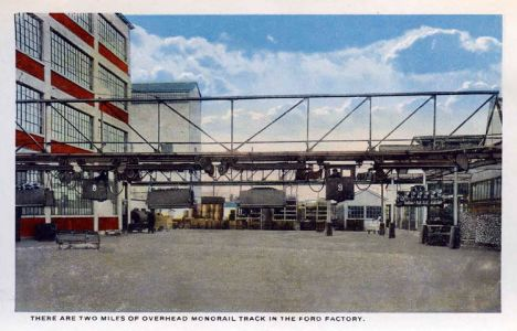 Ford Plant Postcards Circa 19172-rfh1-17