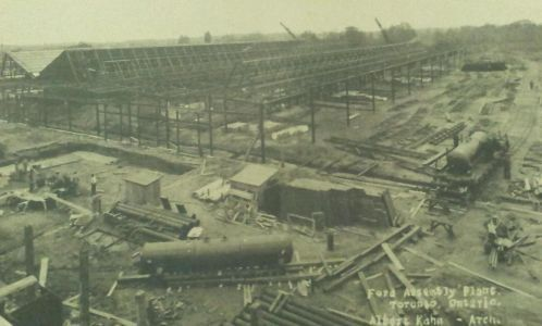 Photo 8 - View Of West Side (B) Of Ford \'A\' Assembly Plant 1927